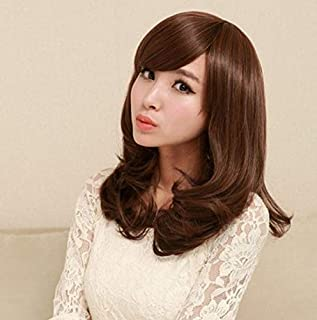 women wig Curly hair Fluffy Girls wig (M009)