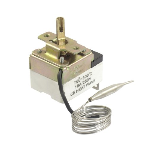 1NC 1NO AC 250 16A 50-300C Temperatur Kontrolle Schalter Kapillar Thermostat DE de