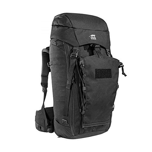 Tasmanian Tiger TT Rucksack Modular Pack 45+ Molle-Kompatibler Backpacker Trekking-Rucksack Abschließbar 50L Volumen, Schwarz