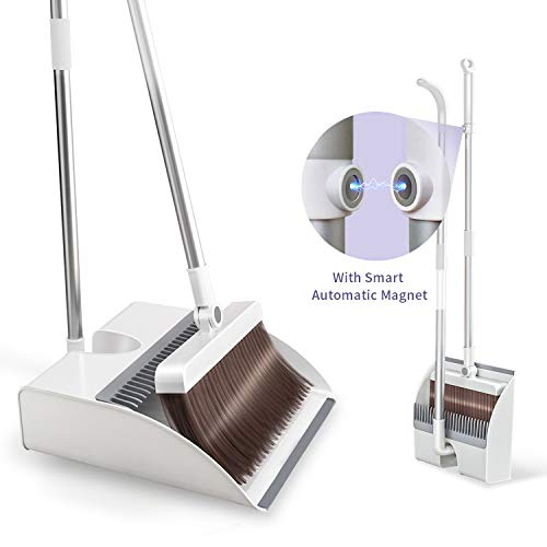 """Broom and Dustpan Set for Home 