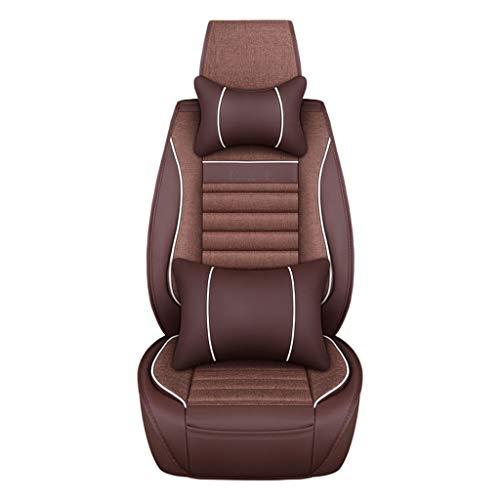 Stoelbekleding voor kinderwagen, de leren hoezen van de autostoelen zijn met de stoelbekleding rond het model van een universeel zitkussen voor zeven zitplaatsen gemaakt.