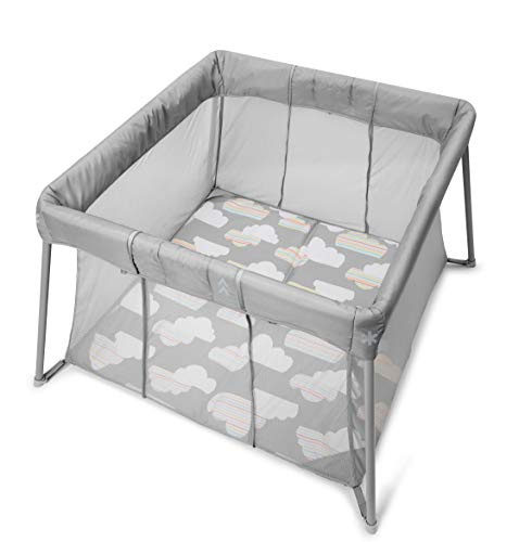 Skip Hop Portable Playard and Foldable Expanding Travel Crib/Playpen  Play to...