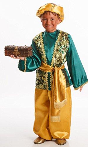 Disfraz de Paje Verde para Niño en varias tallas