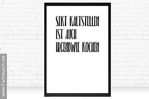 Poster mit Spruch
