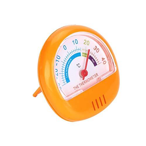 Shipenophy Congelador Refrigerador Dial Grande para el hogar para Almacenamiento en frío(Yellow)