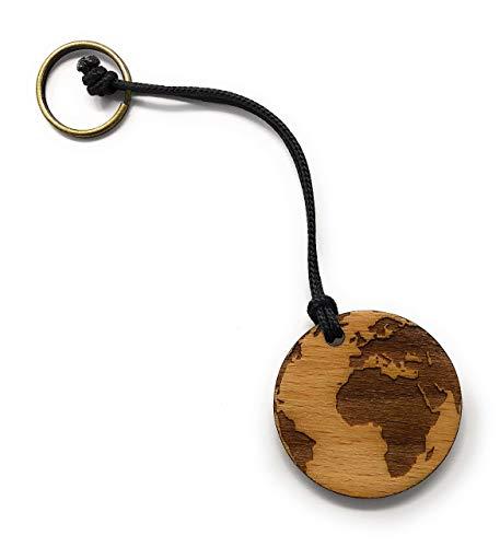 Kofferanhänger/Erde/Anhänger/Koffermarke/Geschenk mit individueller personalisierter Gravur