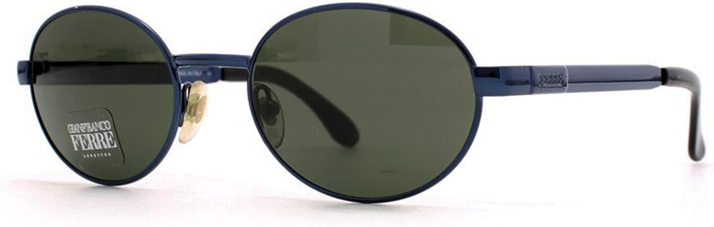 Gianfranco Ferre 456 6UY bluee Authentic Men  Women Vintage Sunglasses