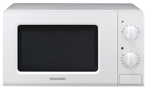 Daewoo KOR-6F07 Microondas, 20 litros, manual, sin grill, color blanco