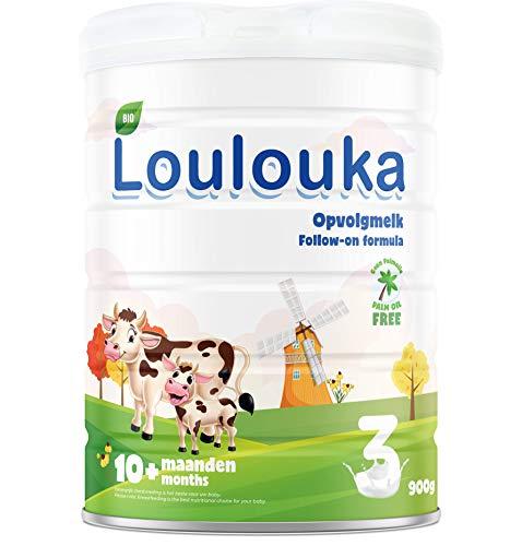 Loulouka Bio 3 - Opvolgmelk - vanaf 10 maanden - 900 gram – Flesvoeding