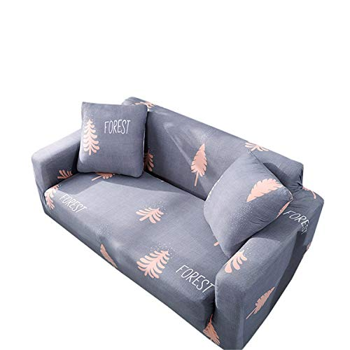 Yunchengyunxiangtong Stretch Couch All-Inclusive-Universal-Set Solid Color-Sofa-Abdeckung Handtuch Stretch Sofa Kissenbezug Faule Sofa-Abdeckung (Size : Double)