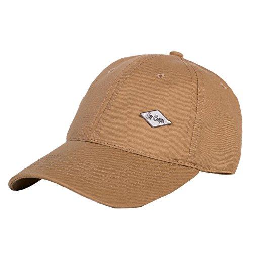 Gorra ajustable para hombre Lee Cooper caqui Talla única