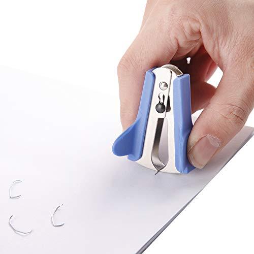 Craftinova Stapler,Office Stapler,Durable Metal Stapler ,20 Sheet Capacity,Includes 2000 Staples & Stapler Remover,3PACK,for Office or Home Office Supplies, Blue…… Photo #4
