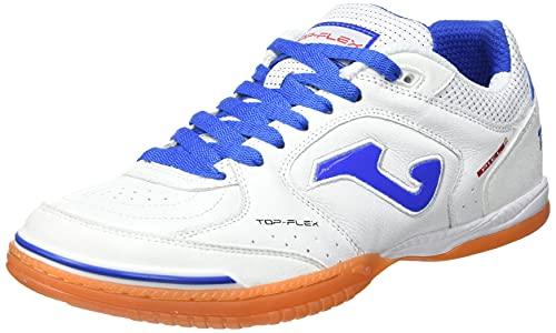 Joma Top Flex, Zapatillas de Futsal Hombre, Blanco, 46 EU