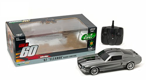 Greenlight Gone in Sixty S (2000) - 1967 Ford Mustang Eleanor 2.4 Ghz Remote Control (1:18 Scale) Vehicle