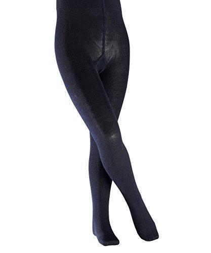 FALKE Kinder Strumpfhosen Comfort Wool - Merinowoll-/Baumwollmischung, 1 Stück, Blau (Dark Marine 6170), Größe: 110-116