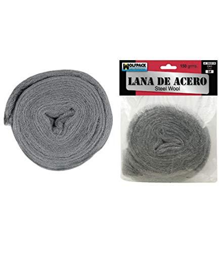 WOLFPACK LINEA PROFESIONAL 9020150 Lana De Acero 150gr 0 Fino