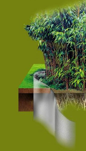 Plantex Wurzelsperre Rasenkante 0,7 x 5 m von DuPont