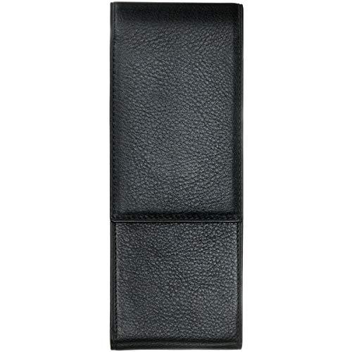 LAMY A 202 Lederwaren – Hochwertiges Leder-Etui 858 in der Farbe Schwarz - Für zwei Schreibgeräte