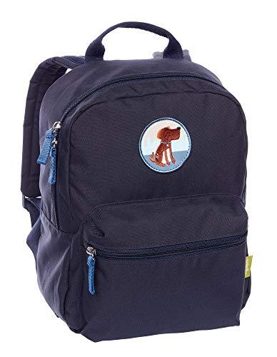 SIGIKID 25140 Rucksack Hund Recycling Green Mädchen und Jungen Accessoires empfohlen ab 3 Jahren blau