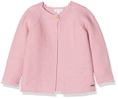 Bellybutton Kids Baby-Mädchen 1/1 Arm Strickjacke, Pink (Rosebay Melange|Pink 8853), 86