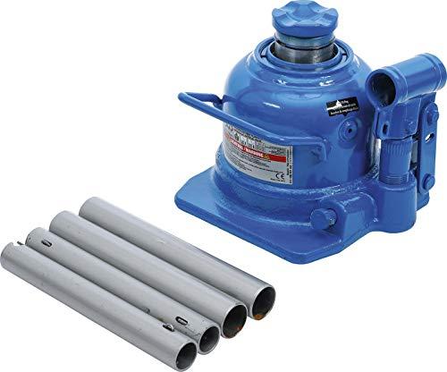 BGS technic BGS 70041 | Hydraulischer Flaschen-Wagenheber | extra flach | 10 t