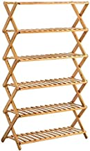 ZXHDND Flower Stand XHCP Multipurpose Shelf Bamboo Flower Stand Solid Wood Floor Type Indoor Folding Multi-layer Balcony L...