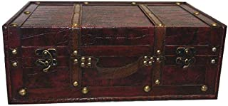 huafeng trading inc Replica Vintage-Style Wooden Suitcases (HF 020B-2)