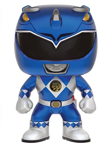 Funko 599386031 - Figura Power Ranger Azul metallico
