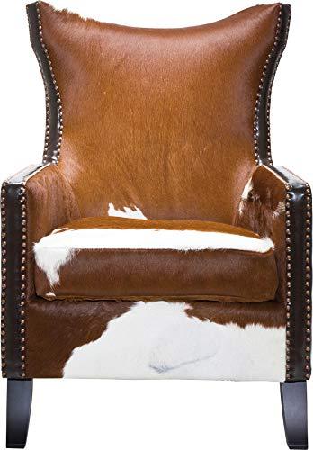Kare Design Denver Sillón, Piel Vaca, Multicolor