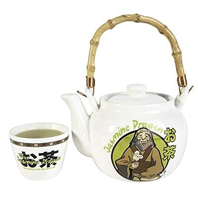 Avatar: The Last Airbender Tea Set - Ceramic Teapot and Teacup