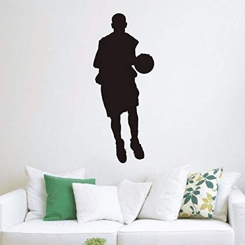 yaonuli basketbalspeler, sport, vinyl, wandsticker, basketbal, sport, muurstickers voor de decoratie van de kinderkamer