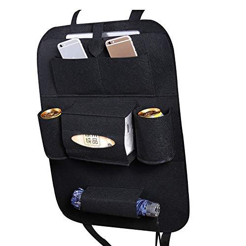 CROSYO 1pc Coche Bolsa de almacenamiento Caja universal Bolsa de asiento trasero Organizador Bolsa Backseat Holder Backets Bolsets Protector de estilo de automóvil Accesorios de automóviles