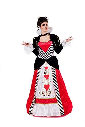 Fun Shack Rotes Herzkönigin Kostüm für Damen - L