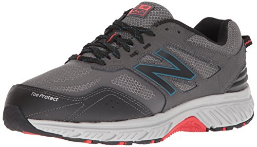 New Balance Men's 510 V4 Trail Running Shoe, Magnet, 9.5 XW US