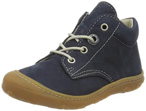 RICOSTA Pepino Unisex - Kinder Stiefel Cory, WMS: Weit, Kinder-Schuhe Klett-Schuhe toben Spielen Freizeit leger Boots Leder Kids,See,19 EU / 3 UK