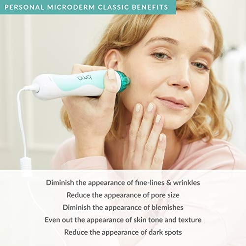 PMD Personal Microderm Classic - At-Home Microdermabrasion Machine with Kit for Face & Body - Exfoliating Crystals and Vacuum Suction for Fresh and Radiant Skin