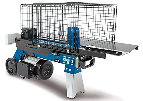 scheppach Fendeur de bois HL760L - Électrique - 230 V - Force de fendage : 7 tonnes - Longueur de fendage : 520 mm - Puissance : 2200 W