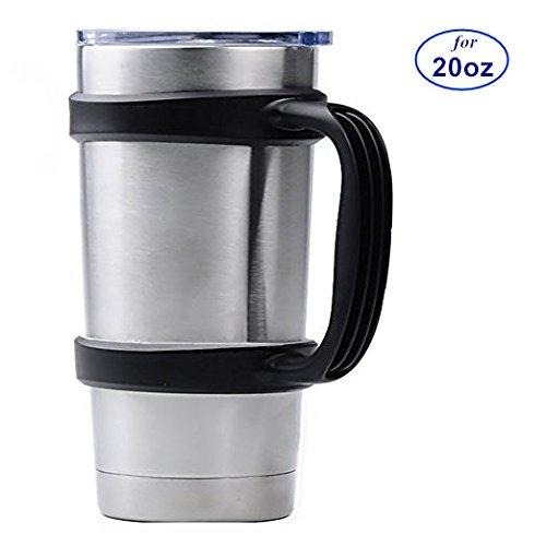 Handle for 20oz Yeti Rambler Tumbler Cooler Cup SIC Kodiak Cups Etc Holder Grip Black