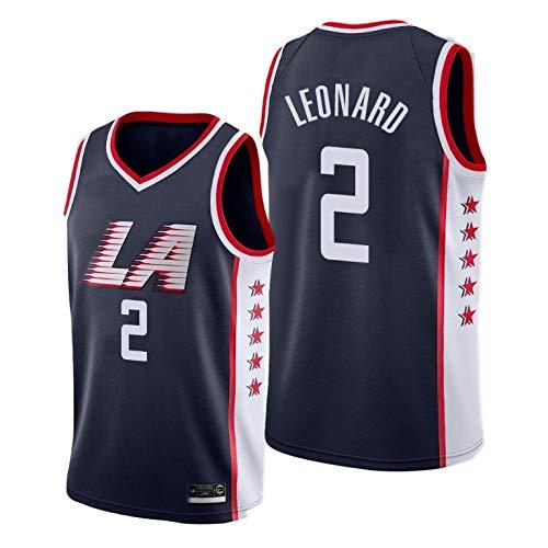 K&P Sports Maglia Kawhi Leonard Los Angeles Clippers City Edition Swingman Nero (Nero, S)