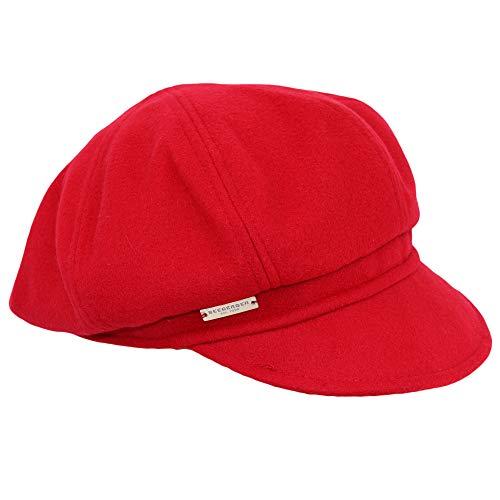 Seeberger Gemma Ballonmütze | Baker-Boy-Mütze | Newsboy-Mütze | Damencap Wintercap...