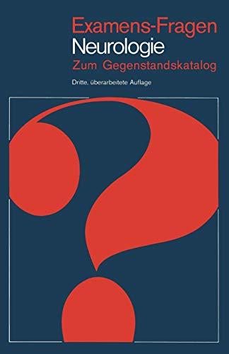 Neurologie: Zum Gegenstandskatalog (Examens-Fragen)