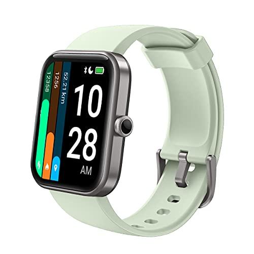 Latec Smartwatch, 1.69-Zoll Fitness Armbanduhr für Damen Herren, Fitnessuhr Sportuhr mit Pulsuhren, Schwimmmodus, Alexa Integration, Schrittzähler Schlafmonitor Blutsauerstoffmonitor für iOS Android