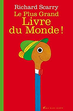 Le Plus Grand Livre du Monde ! French language version of Biggest Word Book Ever ! (French Edition) (A.M. ALB.ILL.A.)