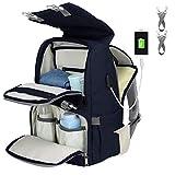 Diaper Bag Backpack,Large Capacity Baby Bag,Multi-functional...