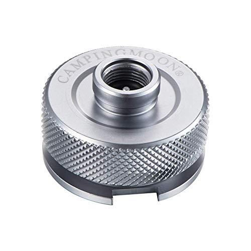SADA72 Gasherd-Adapter, Gasherd-Adapter für Gasflasche, Split-Typ, Ofen-Konverter, Anschluss automatische Abschaltung aus Aluminiumlegierung, Adapter für Outdoor-Aktivitäten, Wandern, Camping