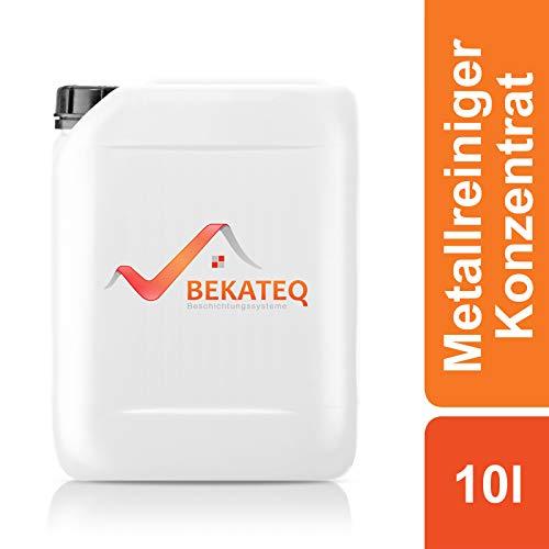 BEKATEQ LS-130 Reiniger lösemittelfrei, 10l Konzentrat, für Kunststoff, Glas, Polster, Edelstahl, Metallreiniger