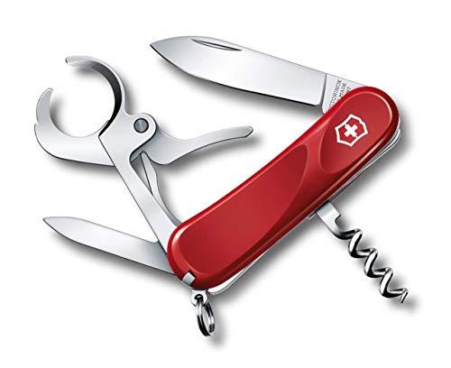 Victorinox Cigar 36 Couteau de Poche Suisse, Léger, Multitool, 8 Fonctions, Tire Bouchon, Lame, Echelles Ergonomiques, Rouge