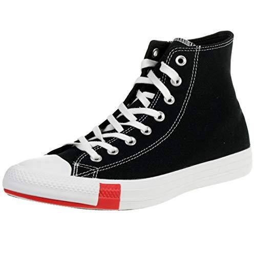Converse Chuck Taylor All Star Hi Logo Play Noir/Bleu (Black/Amarillo) Toile 41 EU