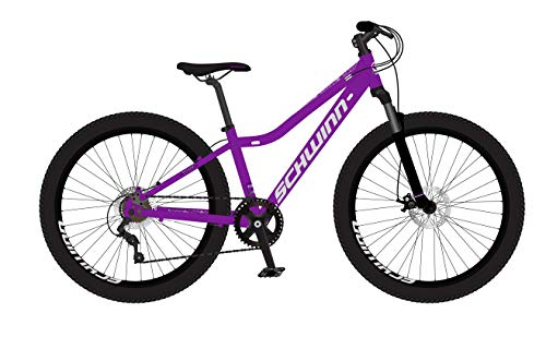 Schwinn Girls' Fleet 24' MTB, Purple, 12'