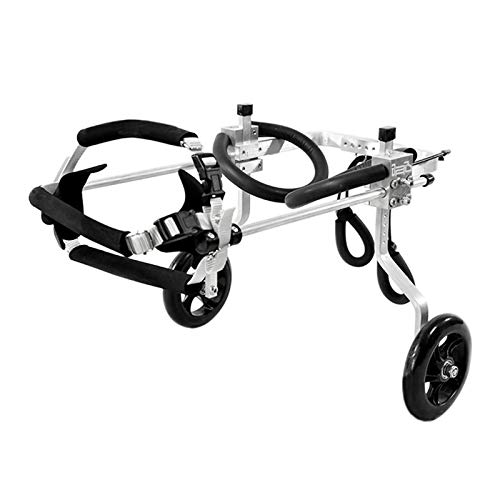 YJDIOXI Hund Rollstuhl Hund Kinderwagen, Hinterbeine Rehabilitation Deaktivierte Dog Assisted Walking Walking...